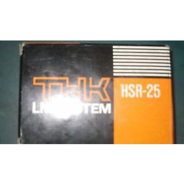 THK Original and high quality HSR-25 Bearing #1 image