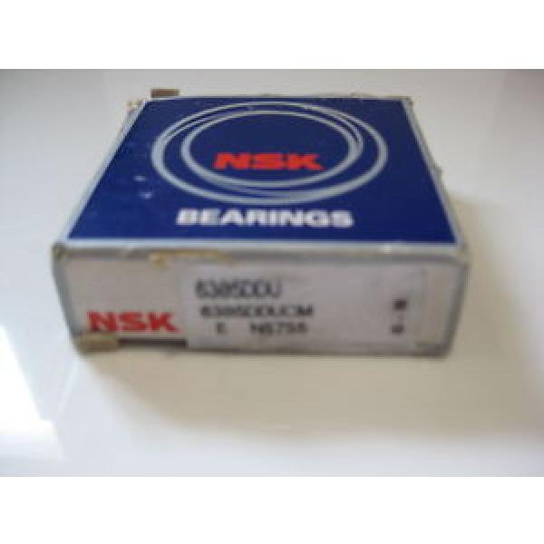 6305 DDU Single Row Radial Bearing NSK #1 image