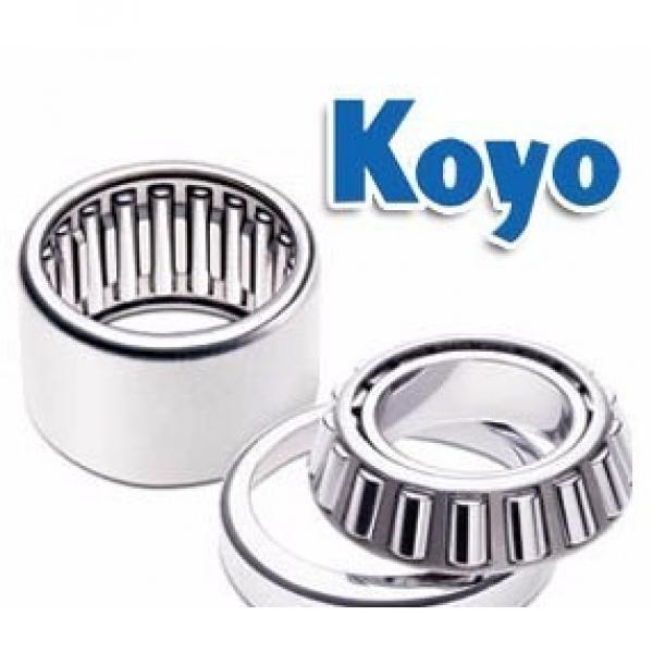 KOYO  Single Row Angular Ball Bearings 7204DB #2 image
