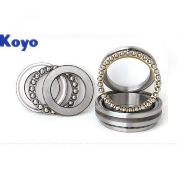 KOYO  Single Row Angular Ball Bearings 7204DB #3 image