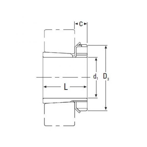 Timken  H322 Metric H Adapter Sleeve #1 image