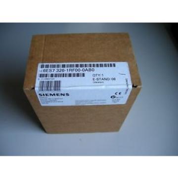 Original SKF Rolling Bearings Siemens S7 300 6ES7 326-1RF00-0AB0 SM326F Digital Input DI 8x NAMUR  neuwertig
