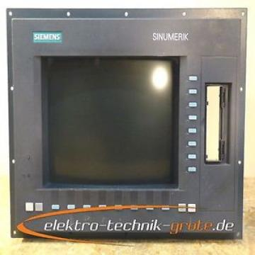 """Original SKF Rolling Bearings Siemens 6FC5203-0AB20-0AA0 Bedientafel OP 032 CRT 14""""  Farbe"""
