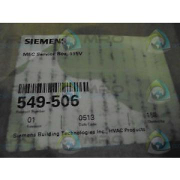 Original SKF Rolling Bearings Siemens 549-506 SERVICE BOX 115V *NEW IN  BOX*