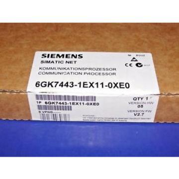 Original SKF Rolling Bearings Siemens FACTORY SEALED 6GK7443-1EX11-0XE0 SIMATIC S7-400 CP443-1 Comm.  Processor