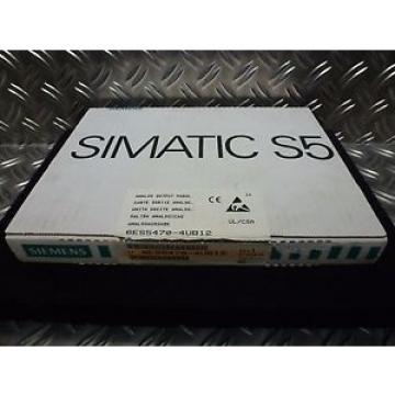 Original SKF Rolling Bearings Siemens T3042 Simatic S5 6ES5 470-4UB12 E-5 6ES5470-4UB12 Analog  Output