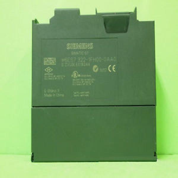 Original SKF Rolling Bearings Siemens USED 6ES7 322-1FH00-0AA0 PLC  Module #3 image