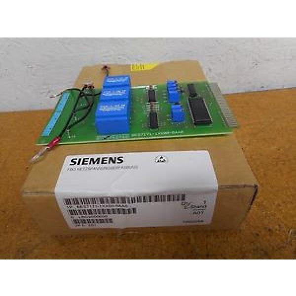Original SKF Rolling Bearings Siemens 6ES7 171-1XX00-6AA0 Heat Control Board In  Box #3 image