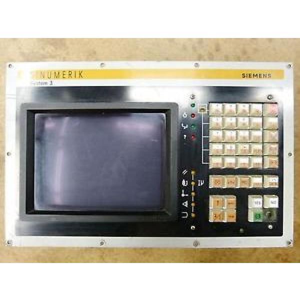 "Original SKF Rolling Bearings Siemens System 3 – 6FC3988-5MC25 Bedientafel 9"" Design  SW #3 image"