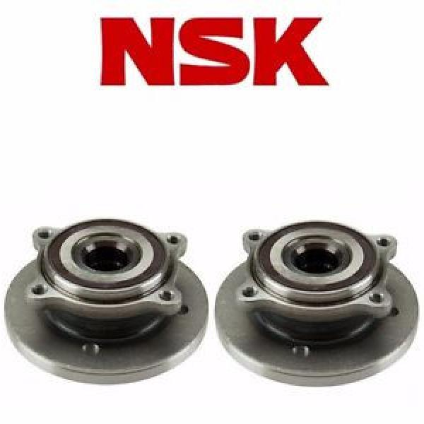 Mini New and Original Cooper 02-06 Set of 2 Front Axle Bearing and Hub Assembly NSK 62BWKH01A #1 image